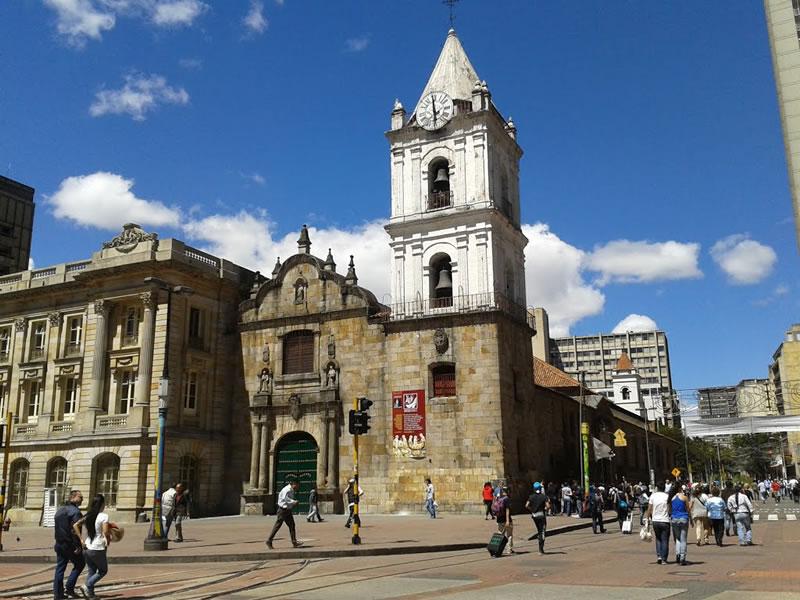 iglesia de san francisco de asis bogota